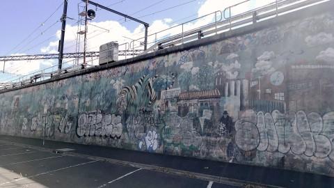 Stephenson Street Mural an Interview with Simone Taffe